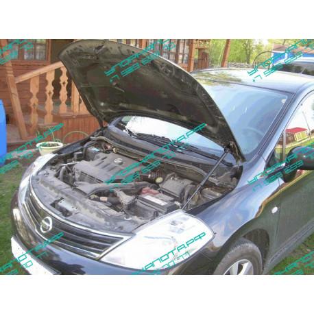 Упоры капота на Nissan Tiida KU-NI-TI00-00