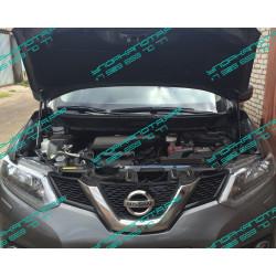 Упоры капота на Nissan X-Trail BD09.13