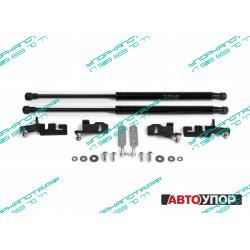Упоры капота на Nissan Navara UNIPAT011