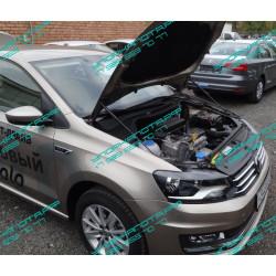 Упоры капота на Volkswagen Polo KU-VW-PL00-02