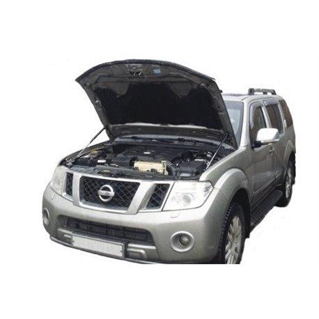Упоры капота на Nissan Navara 01-06