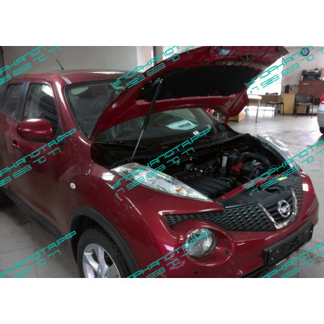 Упоры капота на Nissan Juke KU-NI-JK00-00