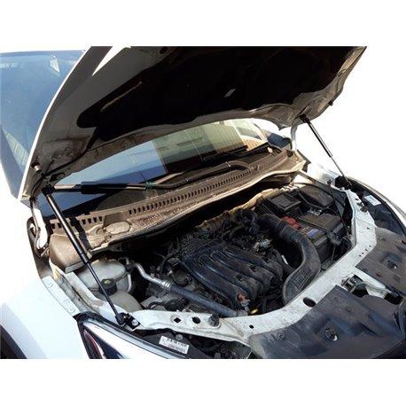 Упоры капота на Renault Kaptur 16-02