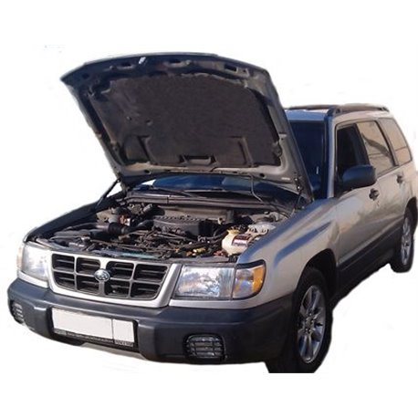 Упоры капота на Subaru Forester 07-01