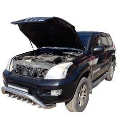 Упоры капота на Toyota Land Cruiser Prado 120 15-04