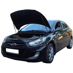 Упоры капота на Hyundai Solaris 12-01