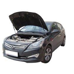 Упоры капота на Hyundai Solaris 12-02