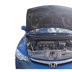 Упоры капота на Honda Civic 04-01