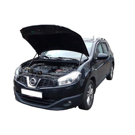 Упоры капота на Nissan Qashqai 01-03