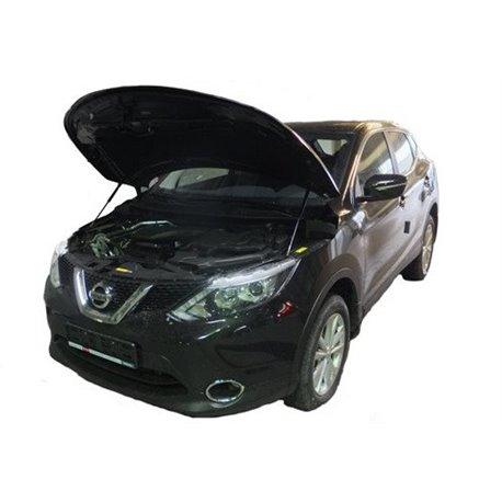 Упоры капота на Nissan Qashqai 01-10