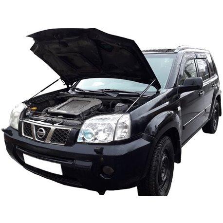 Упоры капота на Nissan X-Trail 01-04