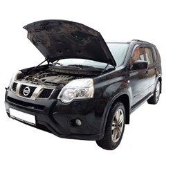 Упоры капота на Nissan X-Trail 01-05