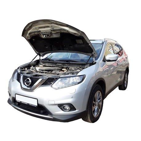 Упоры капота на Nissan X-Trail 01-13