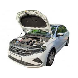 Упоры капота на Volkswagen Polo 13-05
