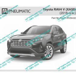 Упоры капота на Toyota Rav 4 KU-TY-RV04-02