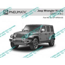 Упоры капота на Jeep Wrangler KU-JP-WR04-00