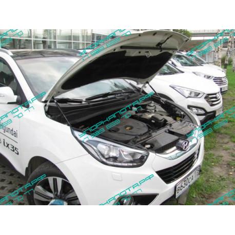 Упоры капота на Hyundai ix 35 UP 2744