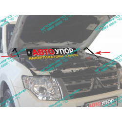Упоры капота на Mitsubishi Pajero UMIPAJ012