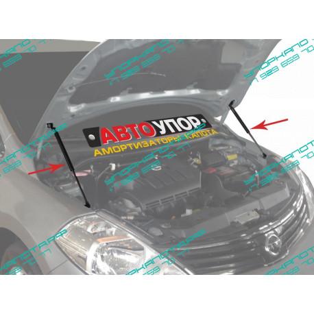 Упоры капота на Nissan Tiida UNITID011