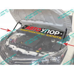 Упоры капота на Toyota Corolla UTOCOR013