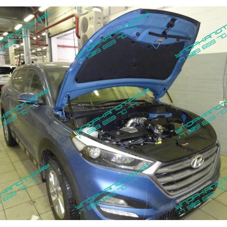 Упоры капота на Hyundai Tucson KU-HY-TS03-00