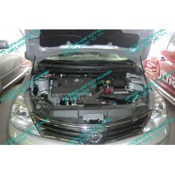Упоры капота на Nissan Tiida BD09.08