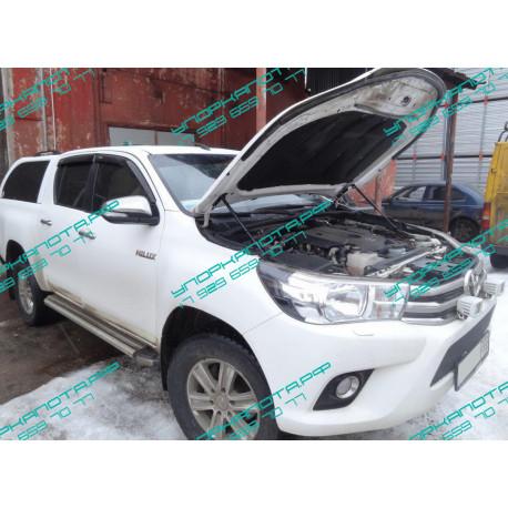 Упоры капота на Toyota Hilux KU-TY-HX08-00