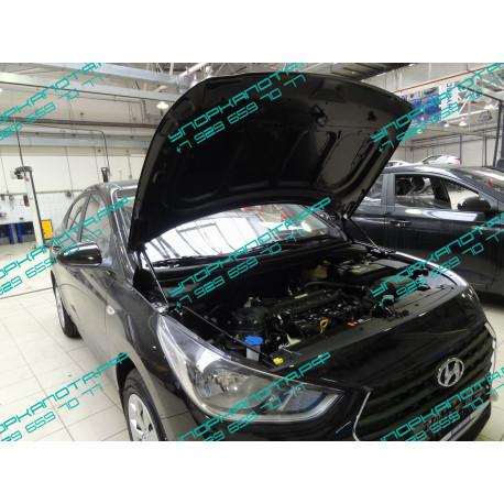 Упоры капота на Hyundai Solaris KU-HY-SL02-00