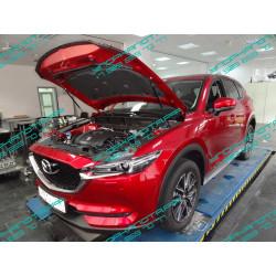 Упоры капота на Mazda CX-5 KU-MZ-CX05-02