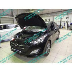 Упоры капота на Hyundai i30 KU-HY-I300-00