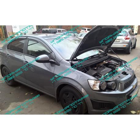 Упоры капота на Chevrolet Aveo KU-CH-AV00-00