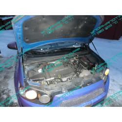 Упоры капота на Chevrolet Aveo BD01.01