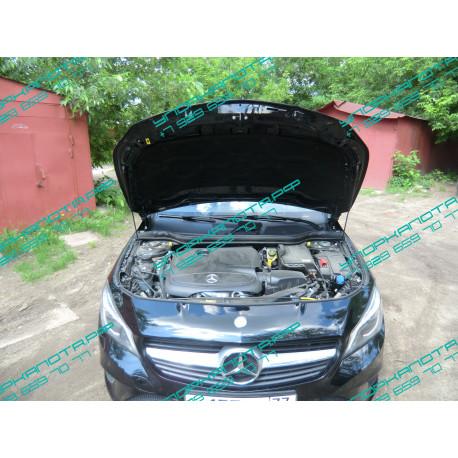 Упоры капота на Mercedes-Benz CLA BD07.02