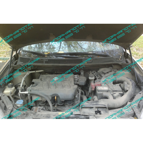 Упоры капота на Nissan Qashqai BD09.05