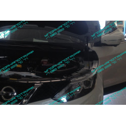 Упоры капота на Nissan Qashqai BD09.06
