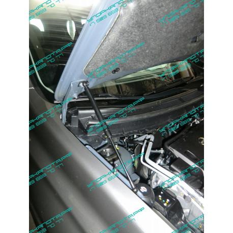 Упоры капота на Nissan X-Trail BD09.10