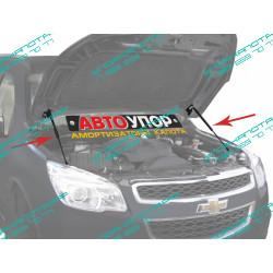 Упоры капота на Chevrolet Trailblazer UCHTRA012