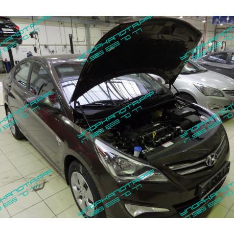 Упоры капота на Hyundai Solaris KU-HY-SL00-00