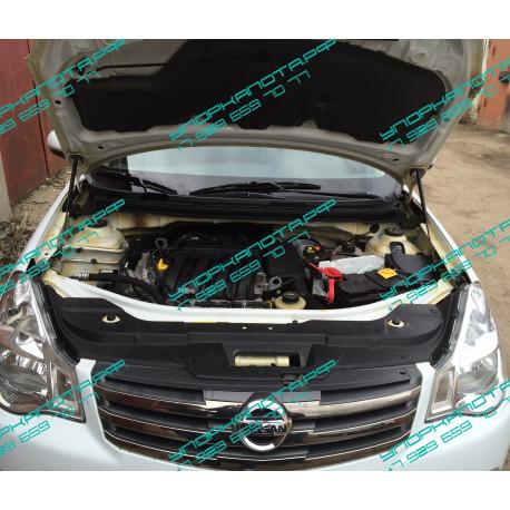 Упоры капота на Nissan Almera BD09.12